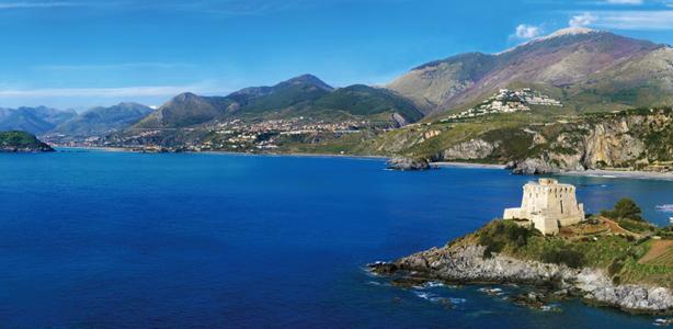Panorama di Praia a Mare, vacanze in Calabria sulla Riviera dei Cedri